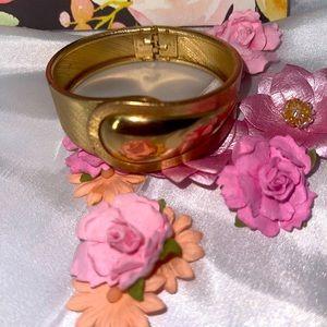 Vintage Large Gold Vermeil Bangle